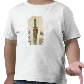 A Minaret and Ceramic Details from the Mosque of t T-shirts