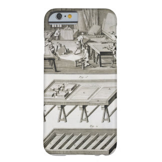 A mirror maker's workshop and tools, from the 'Enc Barely There iPhone 6 Case
