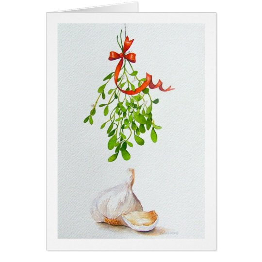 """ A MISTLETOE MOMENT "" CARD"