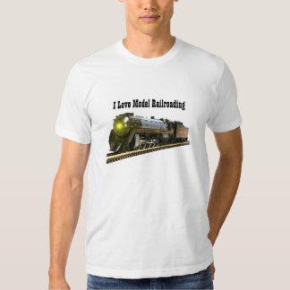 A Model Steam Locomotive Tshirts