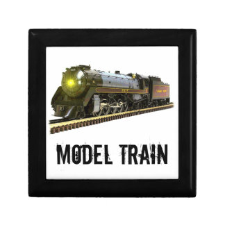 A Model Steam Train Jewelry Box