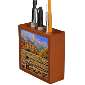 A Moment in Wyoming in Autumn Desk Organiser
