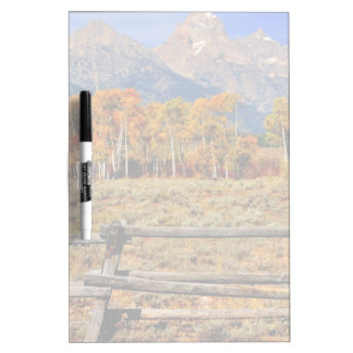A Moment in Wyoming in Autumn Dry Erase Board