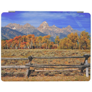 A Moment in Wyoming in Autumn iPad Cover