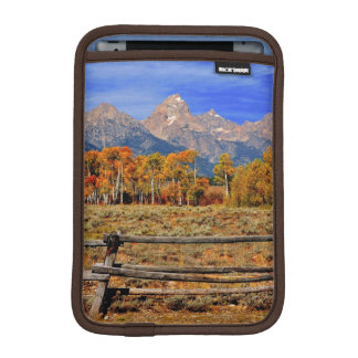 A Moment in Wyoming in Autumn iPad Mini Sleeve