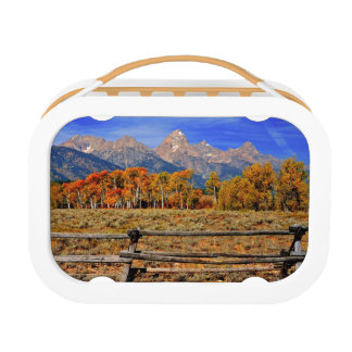A Moment in Wyoming in Autumn Lunch Box