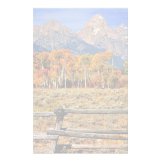 A Moment in Wyoming in Autumn Stationery