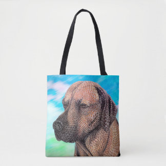 A Moment with Jedd (Ridgeback) Tote Bag