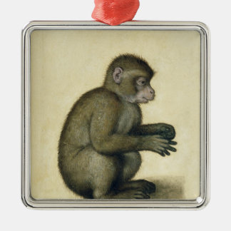 A Monkey Christmas Ornament
