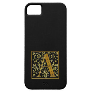 """""""A"""" Monogram Initial Branded iPhone 5 Case"""