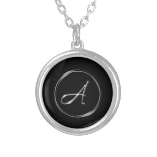 A Monogram Personalized Necklace