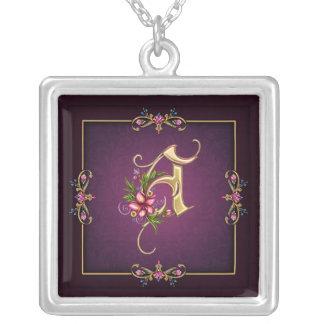 A Monogram Necklace