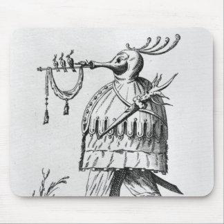A Monster,'Les Songes Drolatiques de Pantagruel' Mouse Mat
