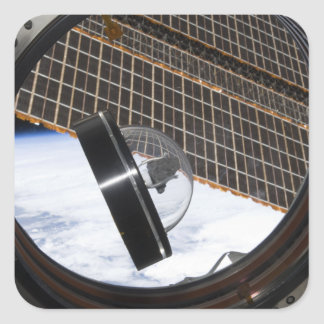 A moon rock 2 square sticker