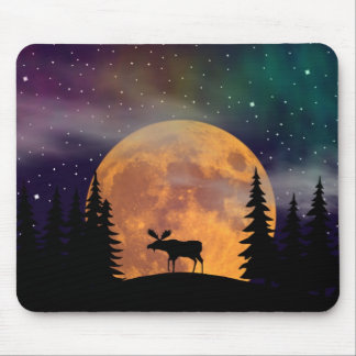 A Moose on the Loose Mouse Mat