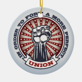 A More Perfect Union Christmas Ornament