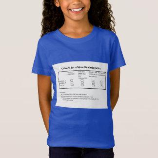 A More Realistic Ballot T-Shirt