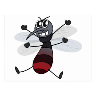 A mosquito postcard