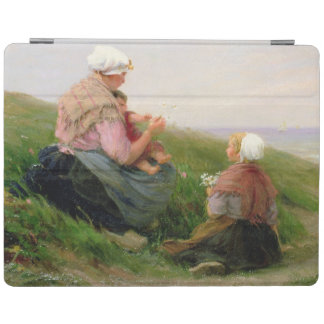 A Mother and her Small Children iPad Cover