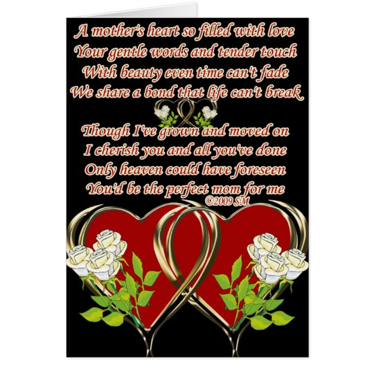 A Mother's Heart Card