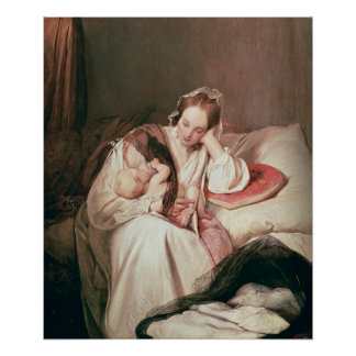 A Mother's Love, 1839 Poster