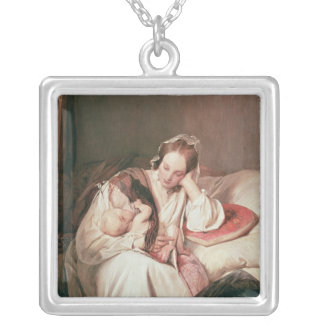 A Mother's Love, 1839 Silver Plated Necklace