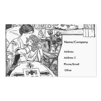 A Mother's Love Business Card