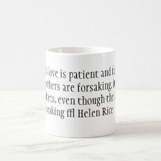 A mother's love is patient and forgiving when a... mugs