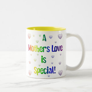 A Mother's Love is Special Two-Tone Coffee Mug