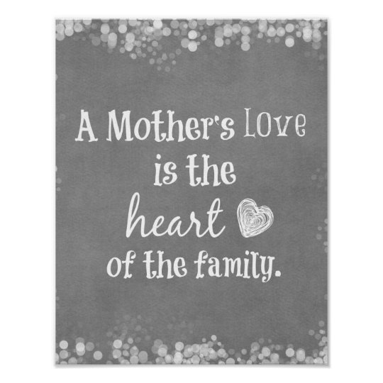 A Mother's Love is the Heart of the