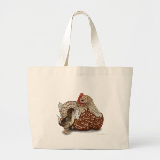 A Mother's Love Large Tote Bag
