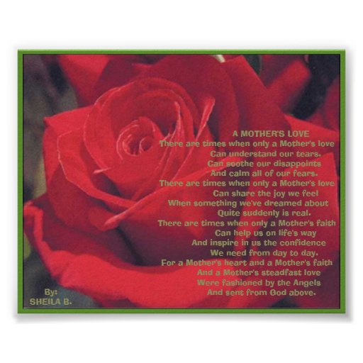 a mother u0026 39 s love poster