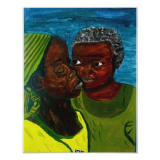 """""""A Mother's Love"""" Wall Poster"""