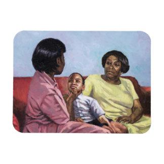 A Mother's Strength 2001 Rectangular Photo Magnet