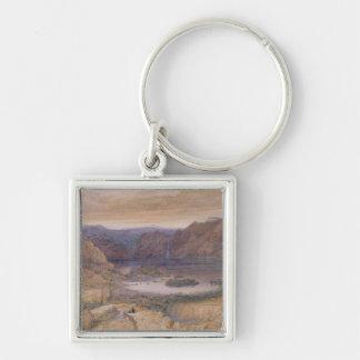 A Mountain Lake, Norway, c.1827 Key Ring