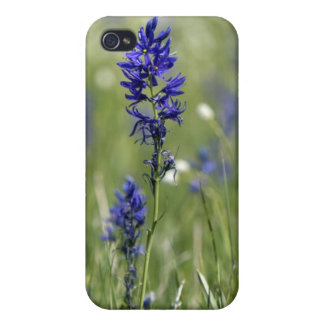 A mountain meadow of wildflowers including iPhone 4/4S cover