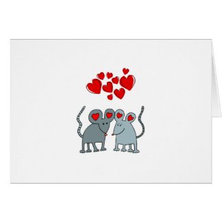 A Mouse Affair Valentine's Day Card