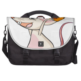 A mouse and a cheese commuter bag