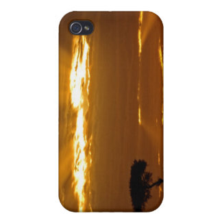 A mouth openning sunrise in the Maasai Mara iPhone 4 Cover