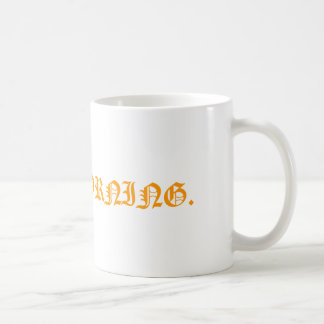 A mug. basic white mug