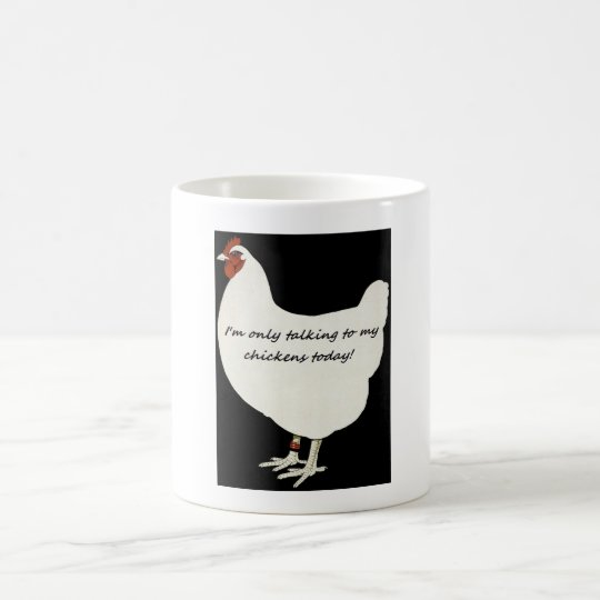 A mug for chickens  lovers