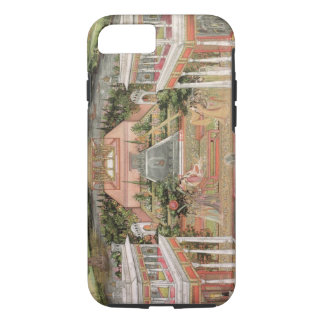 A Mughal Princess in her Garden (gouache on paper) iPhone 8/7 Case