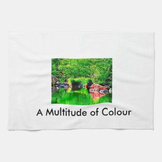 A Multitude of Colour Tea Towel