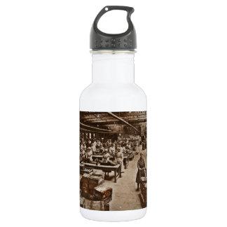 A Munitions Factory Woman WWI 18oz Water Bottle