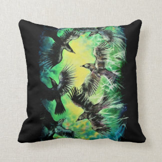 A Murder of Crows Cushion