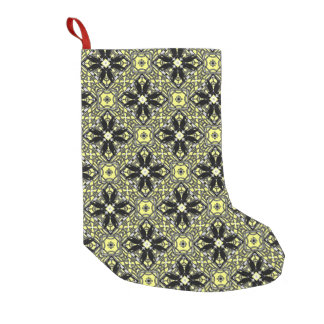 A Murder Of Crows Kaleidoscope Square Small Christmas Stocking