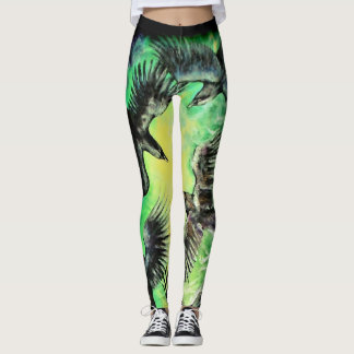 A Murder of Crows Leggings
