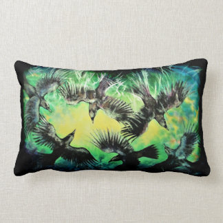 A Murder of Crows Lumbar Pillow