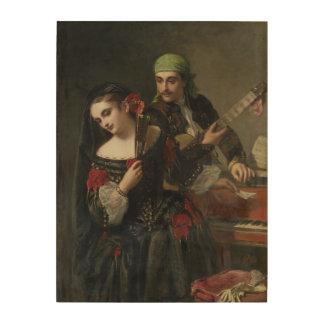 A Music Lesson, Seville Wood Prints