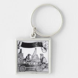A Musical Carriage Key Chain